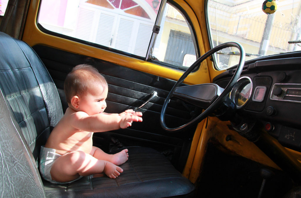 The economics of driving a child to school