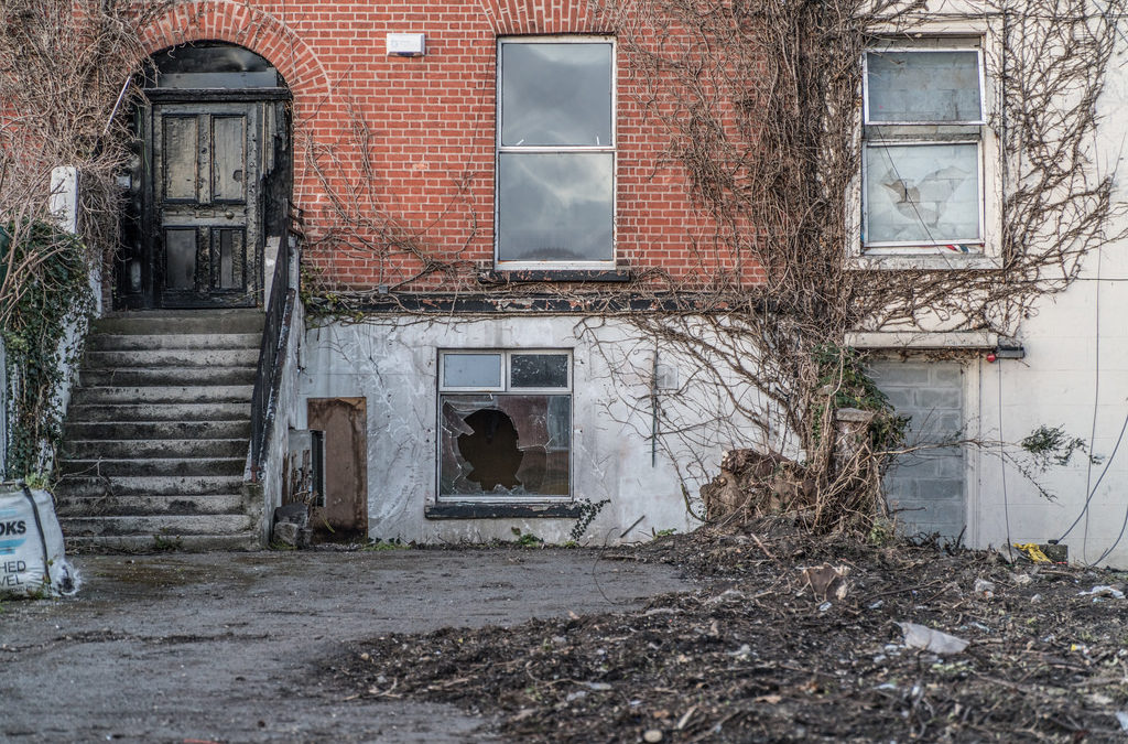 Dereliction is legalised vandalism for the property-owning classes