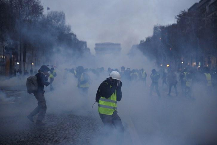 France's unrest shows the limits of economics