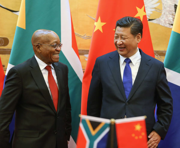 Chinese are boxing clever by muscling in on Africa